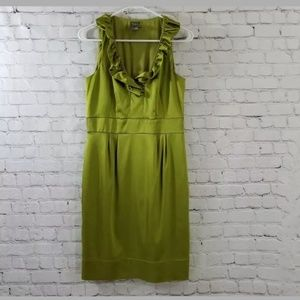 Women's, size 8, olive green dress by Taylor
